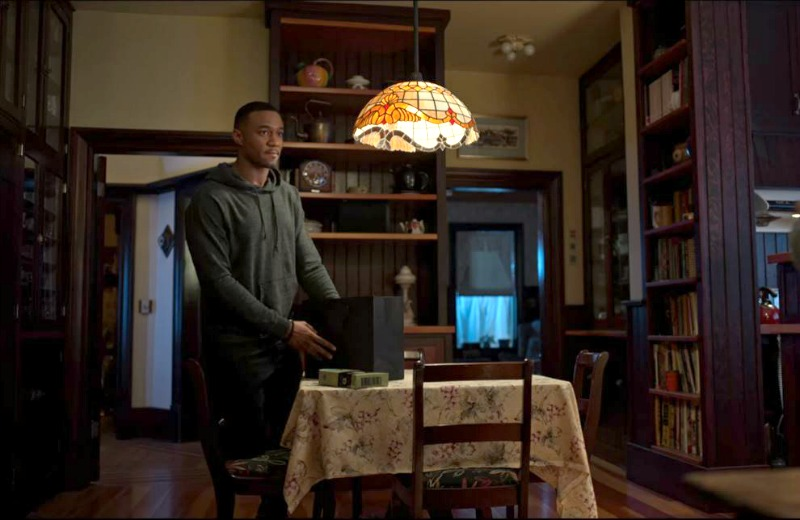 Kitchen in Dangerous Lies Movie Jessie T Usher