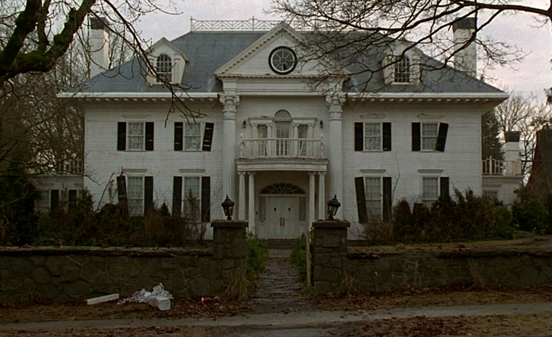 Parrish Mansion from Jumanji 1995 abandoned
