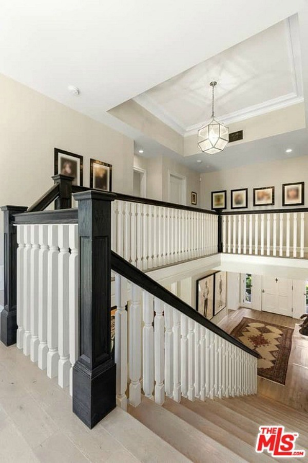 1822 Camino Palmero Street For Sale Staircase