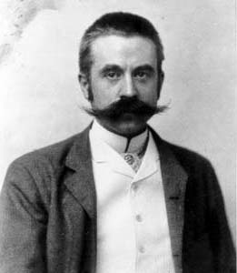 Architect Stanford White circa 1892