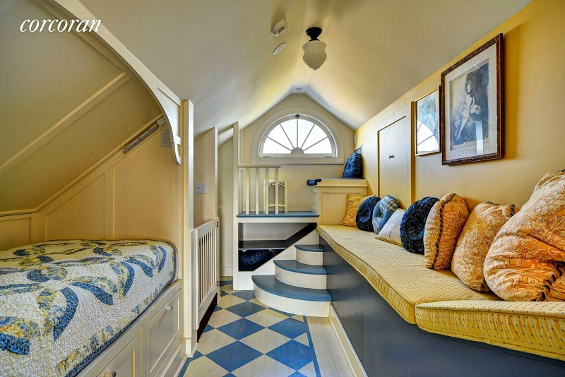 Dick Cavett Montauk house bunk room