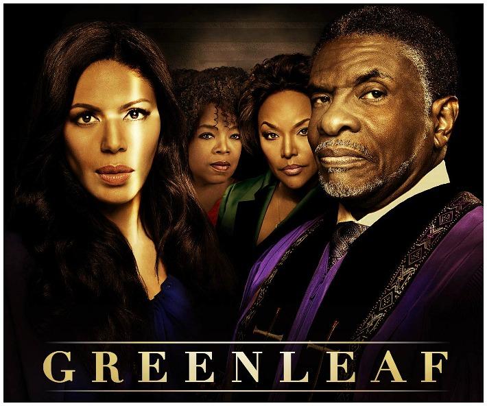 Greenleaf OWN Series Logo with Cast