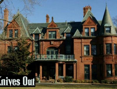 Knives Out movie house filming location