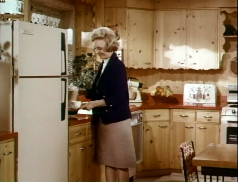 Ozzie and Harriet Show kitchen in color