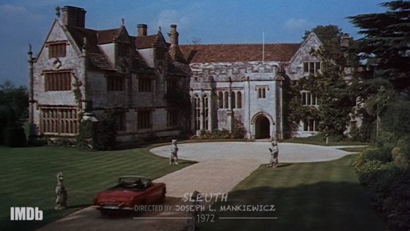 Sleuth 1972 movie mansion