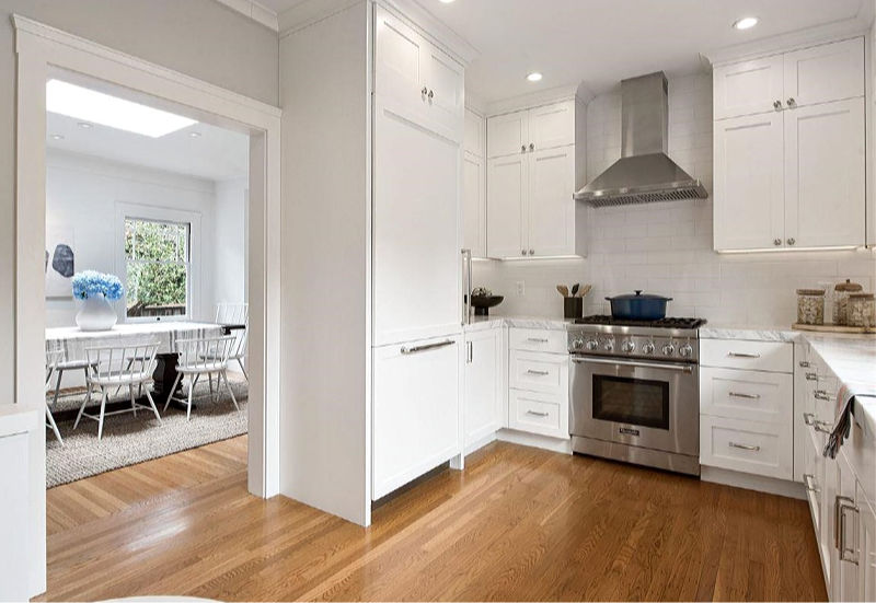 Updated Craftsman white kitchen