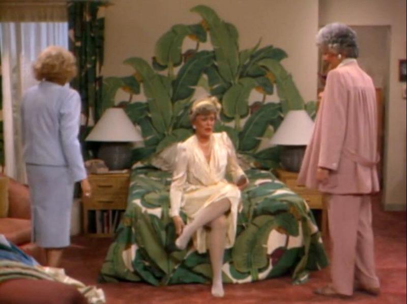 Blanche's Bedroom Golden Girls
