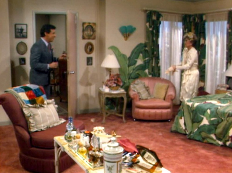 Blanche's Bedroom on Golden Girls TV show