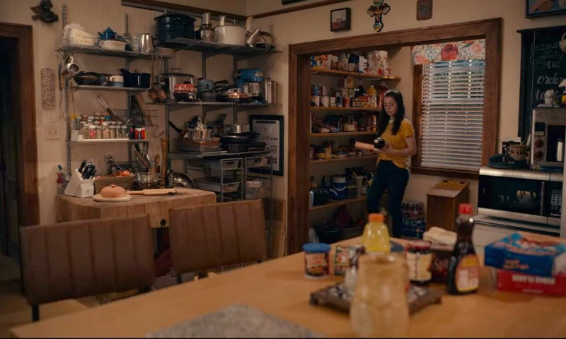 Dana Sue Sullivan's kitchen on Sweet Magnolias