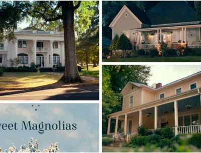 Houses on Sweet Magnolias Netflix