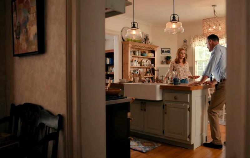 Joanna Garcia Chris Klein Sweet Magnolias Kitchen