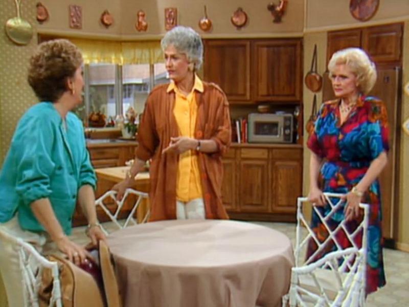 Kitchen Set on Golden Girls TV Show