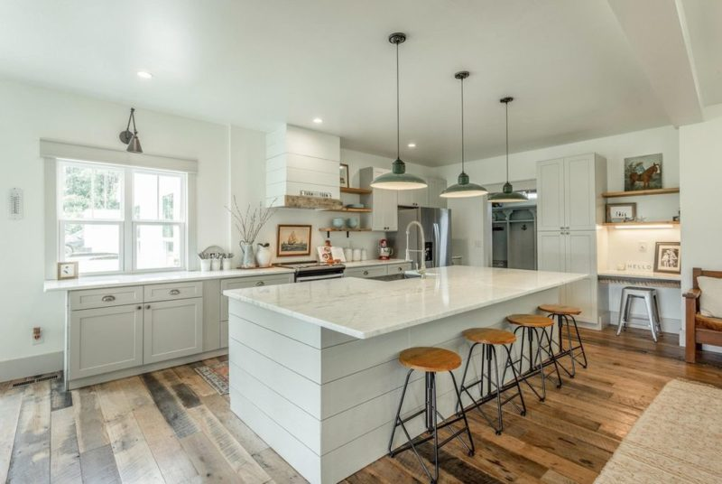 Kitchen in Modern Farmhouse Tennessee