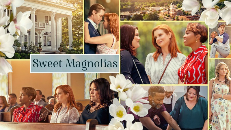 Sweet Magnolias poster Netflix