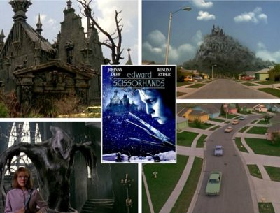 Edward Scissorhands Castle Houses Filming Locations