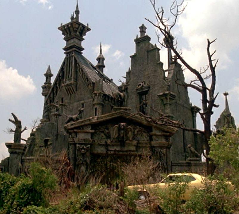 Edward Scissorhands Castle filming location