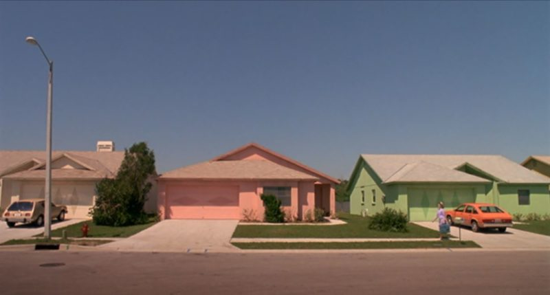 pink house edward scissorhands