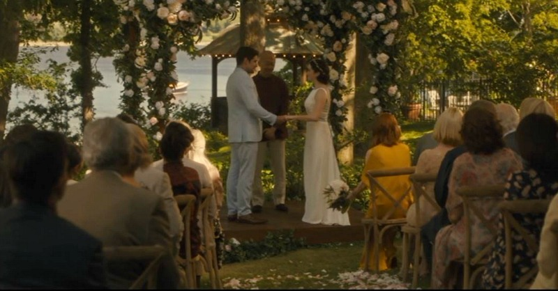 After the Wedding movie screenshot gazebo