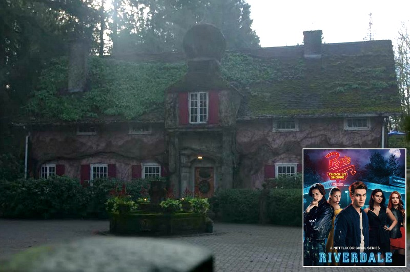 Cheryl Blossom's house filming location Riverdale