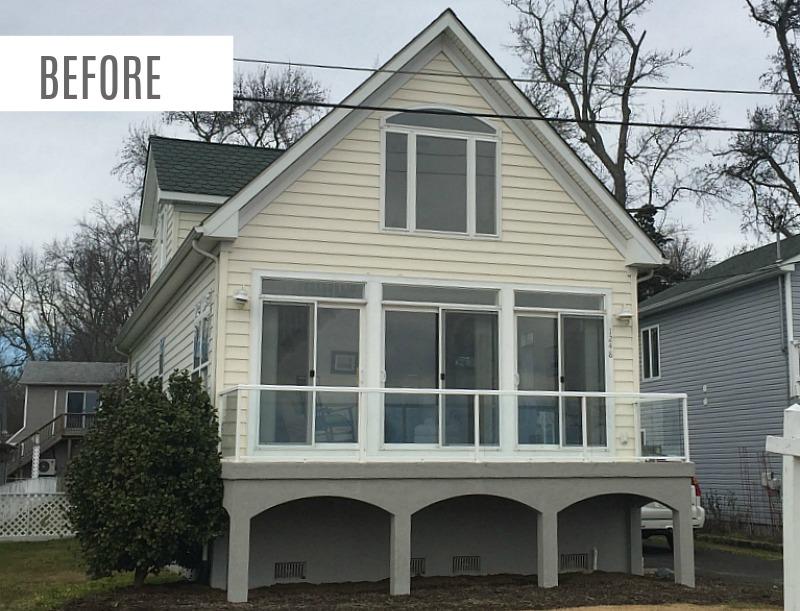 Chesapeake Bay House Before Remodel