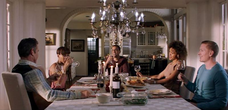 Dining Room Thanksgiving dinner The Intruder