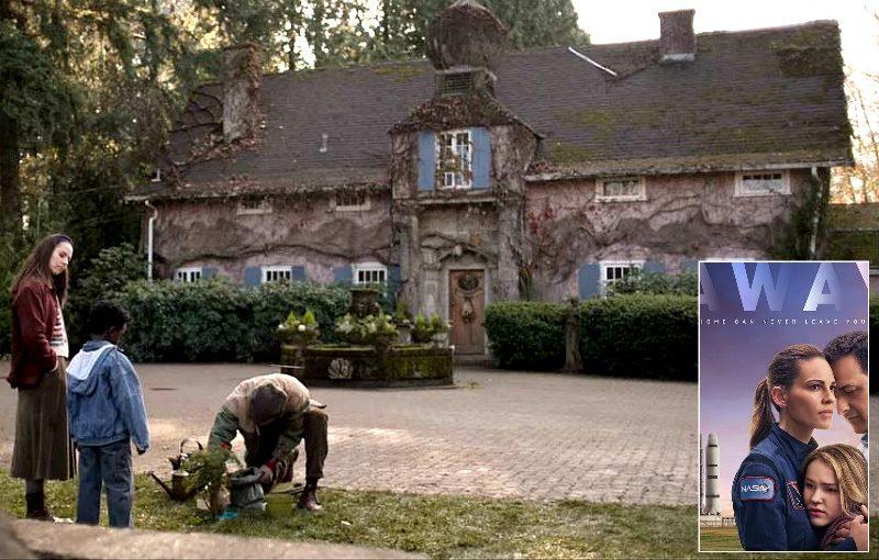 Foxglove Cottage in Away on Netflix