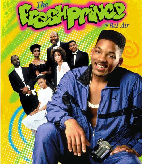 Fresh Prince of Bel-Air cast photo DVD cover