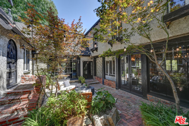 Singer Charli XCX Tudor House For Sale courtyard