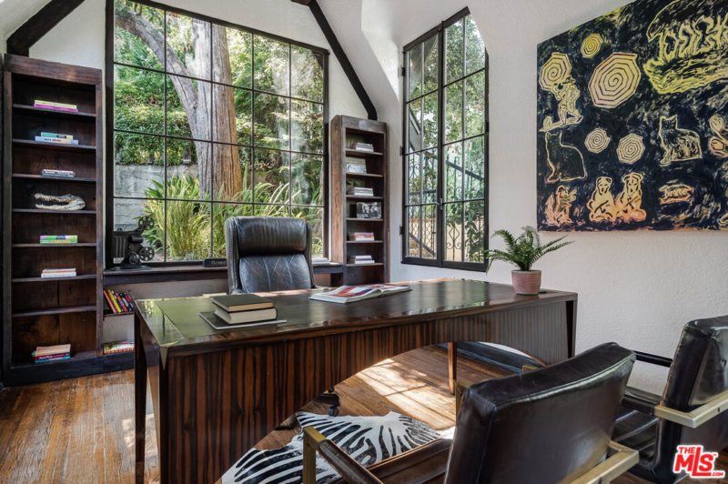 Singer Charli XCX Tudor House For Sale home office