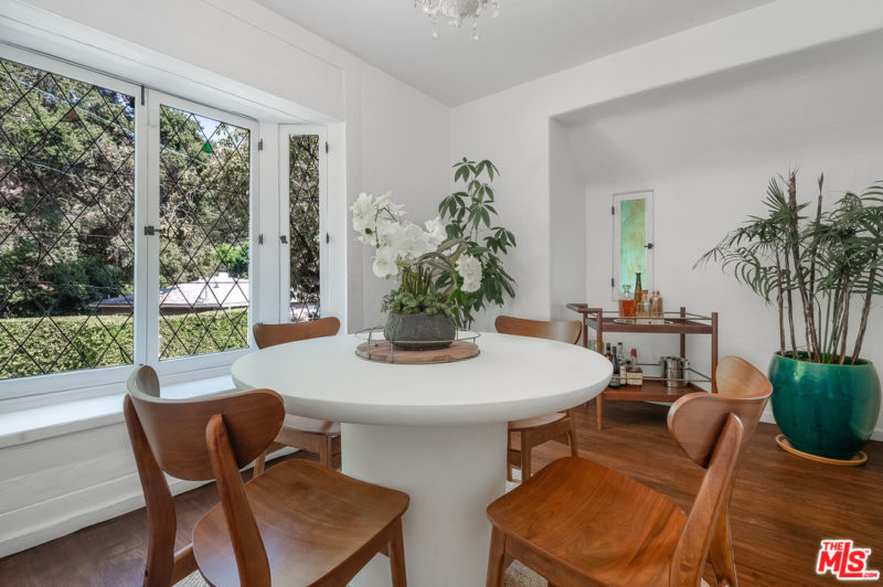 Singer Charli XCX Tudor House For Sale eat-in kitchen