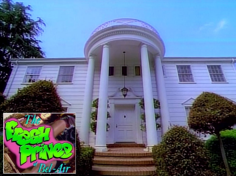 The Fresh Prince of Bel-Air house filming location