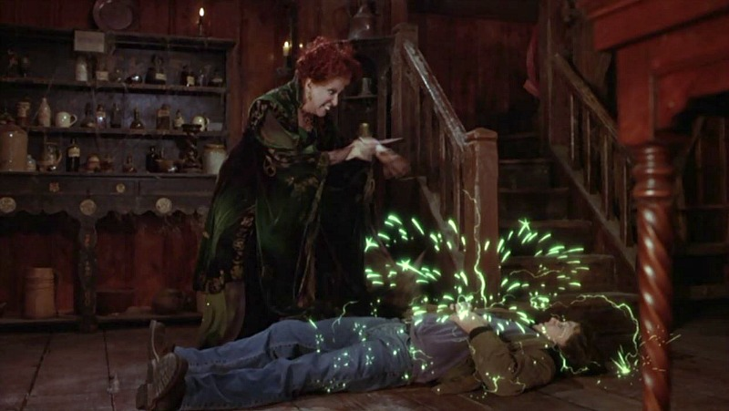 Winifred puts spell on Max Hocus Pocus