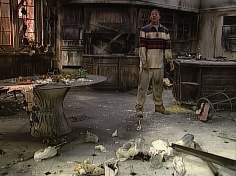 after the fire in the banks family kitchen