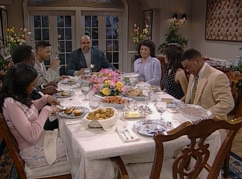 dining room in fresh prince