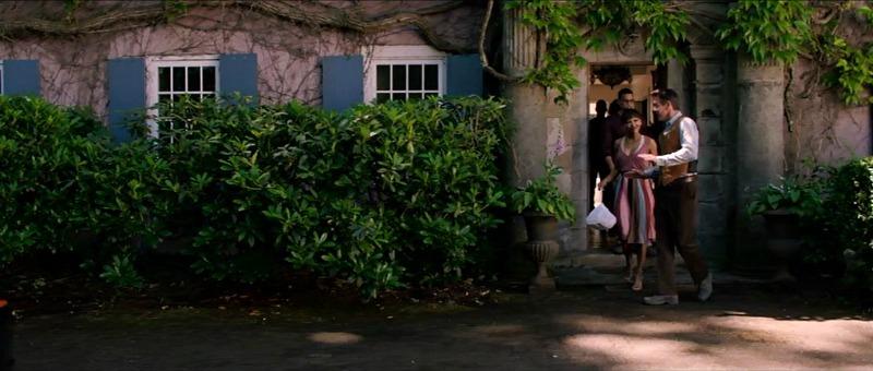 exterior closeup of Foxglove Cottage The Intruder