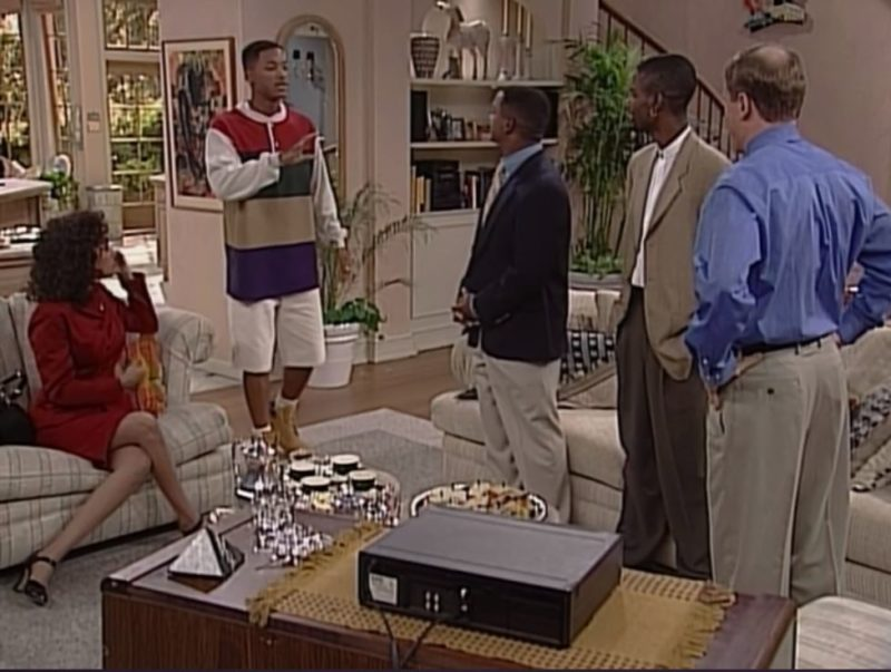 family room fresh prince chris rock guest