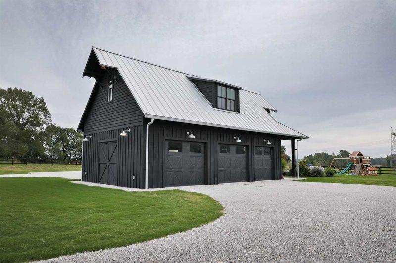 three car garage barn