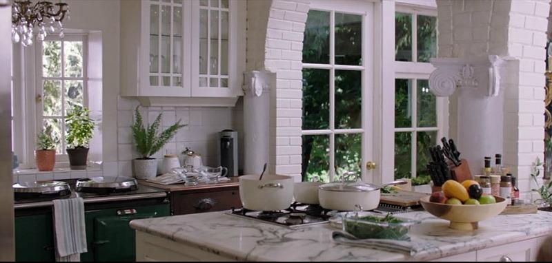 kitchen in The Intruder cottage Thanksgiving