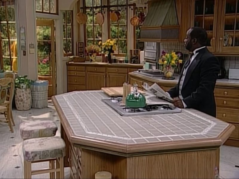 """Butler in kitchen on \""""Fresh Prince of Bel-Air\"""""""
