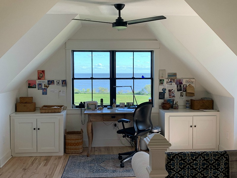 study overlooking chesapeake bay