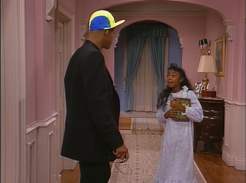 upstairs hallway in fresh prince