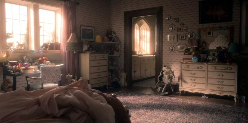 Flora's bedroom Bly Manor