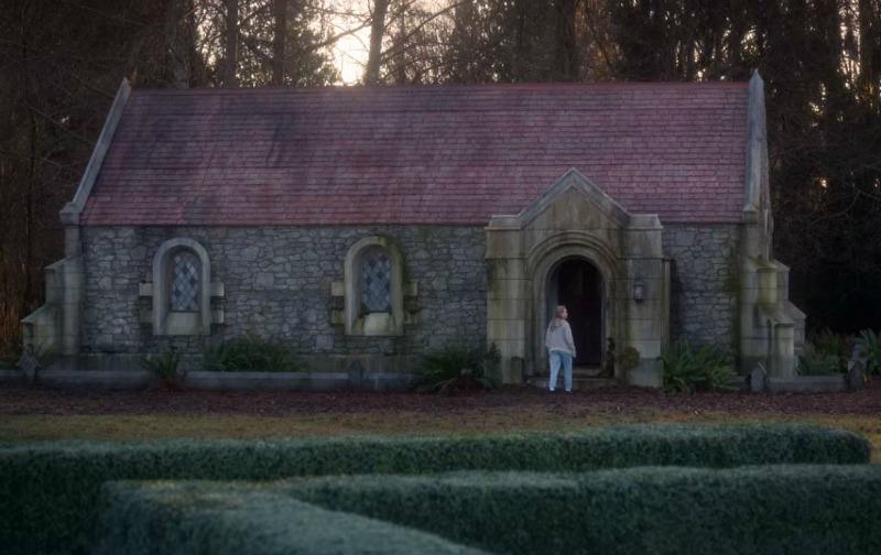 chapel exterior Bly Manor