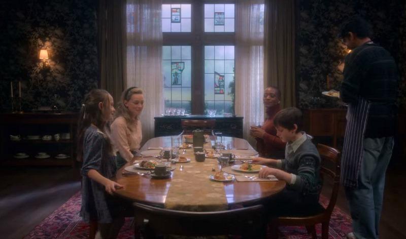 dining room bly manor netflix