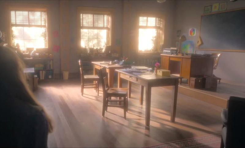 perfectly boring classroom