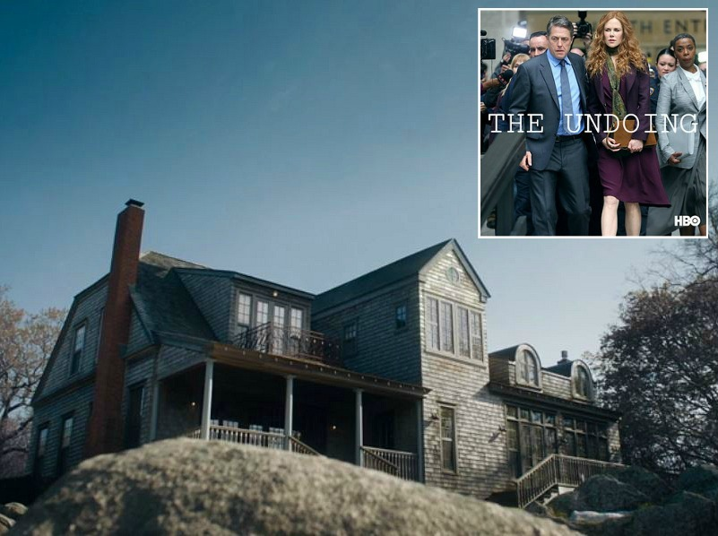 Beach house in The Undoing HBO Nicole Kidman