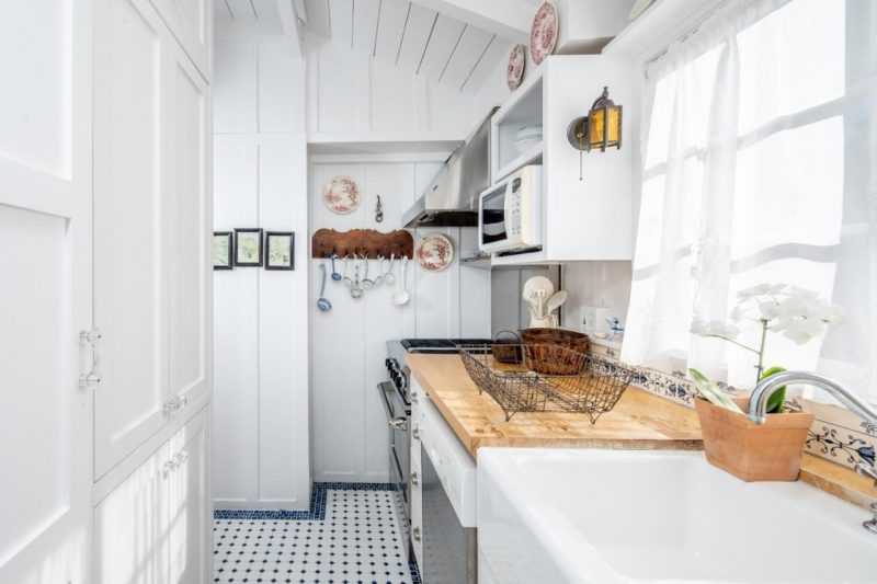 small cottage kitchen in Carmel