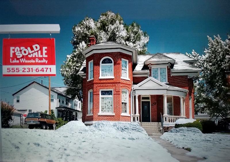 Holly & Ivy Hallmark Christmas Movie House For Sale Sign